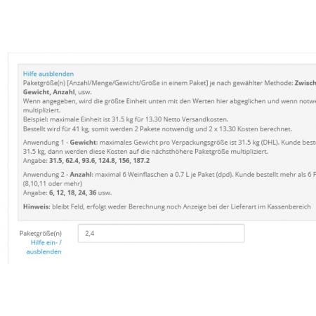 Custom Shipping v.2.3.x